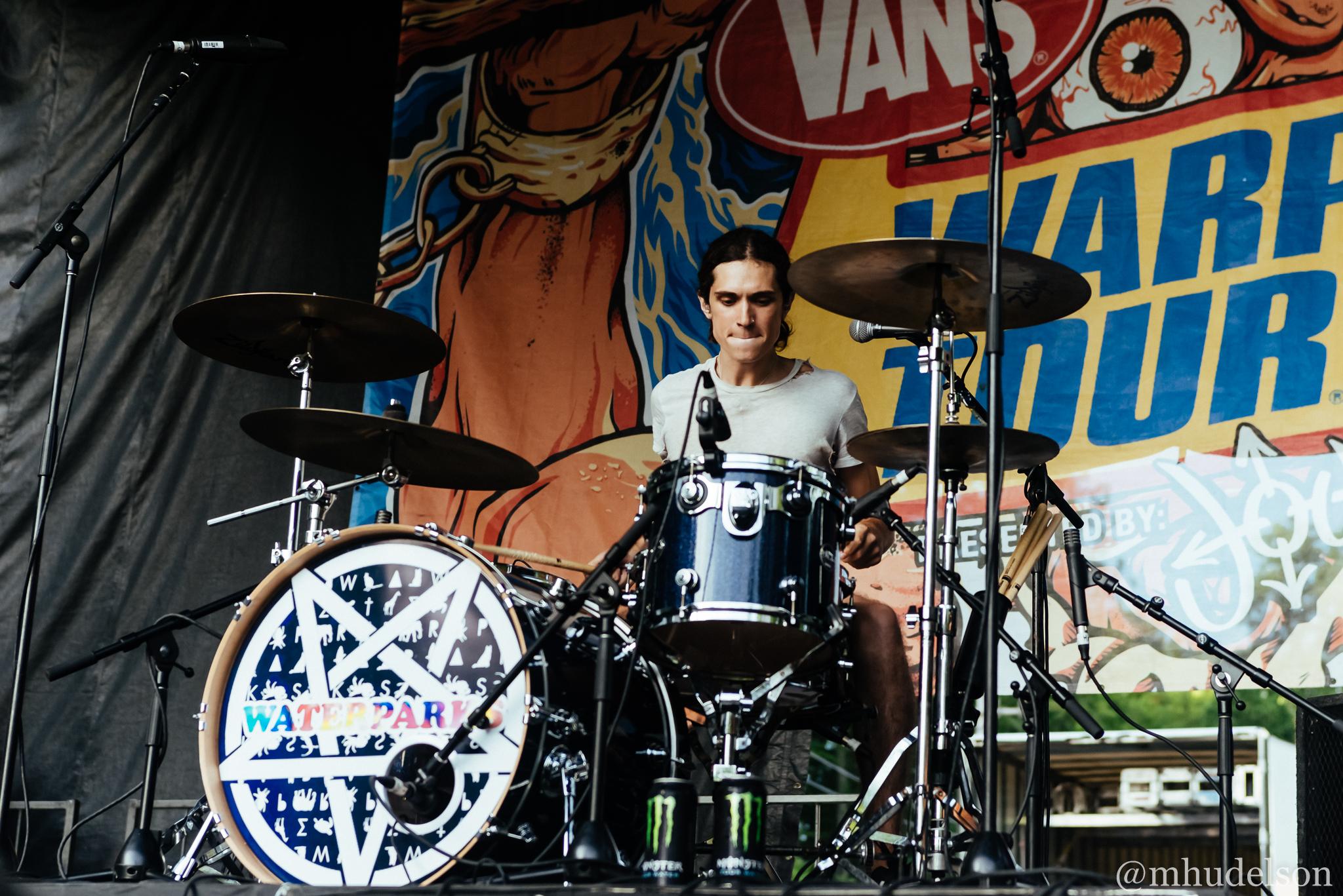 Waterparks / 7/11/16 / Vans Warped Tour / Scranton, PA