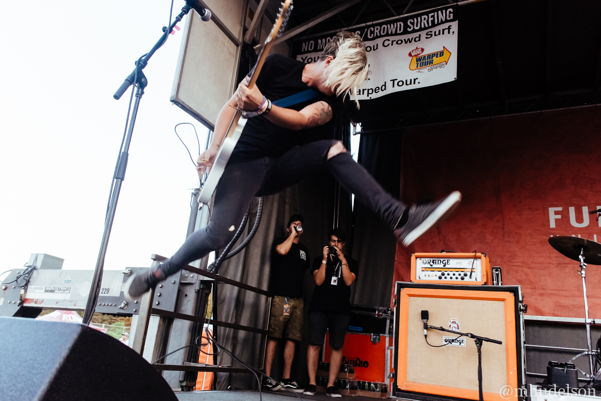 With Confidence / 7/13/16 / Vans Warped Tour / Mansfield, MA