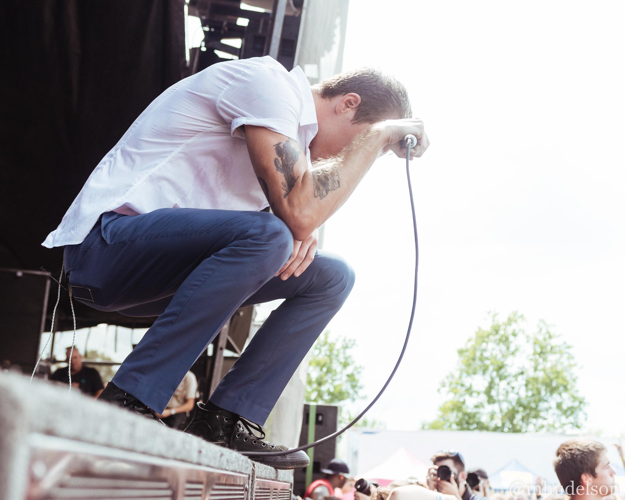 The Maine / 7/19/16 / Vans Warped Tour / Noblesville, IN