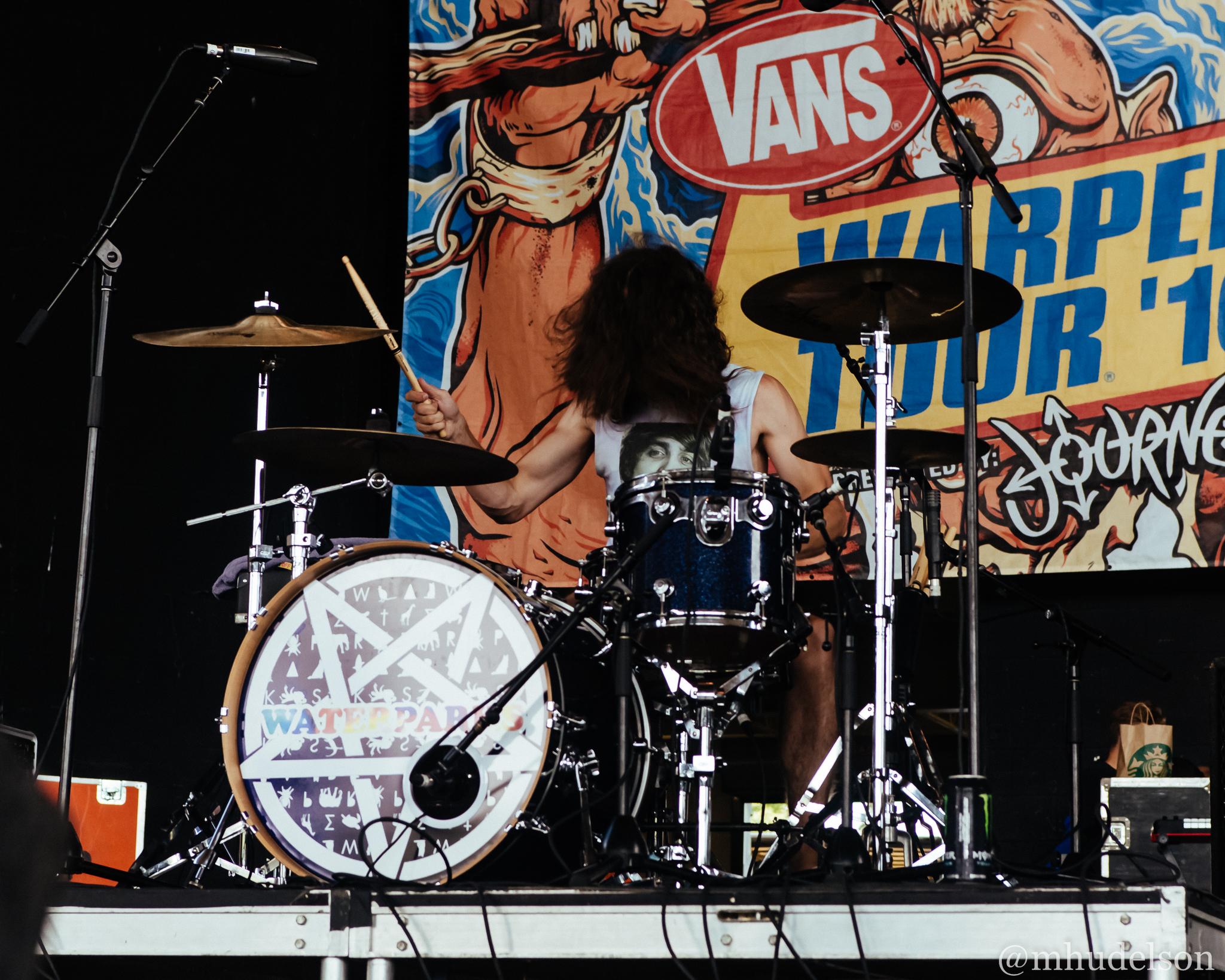 Waterparks / 7/19/16 / Vans Warped Tour / Noblesville, IN