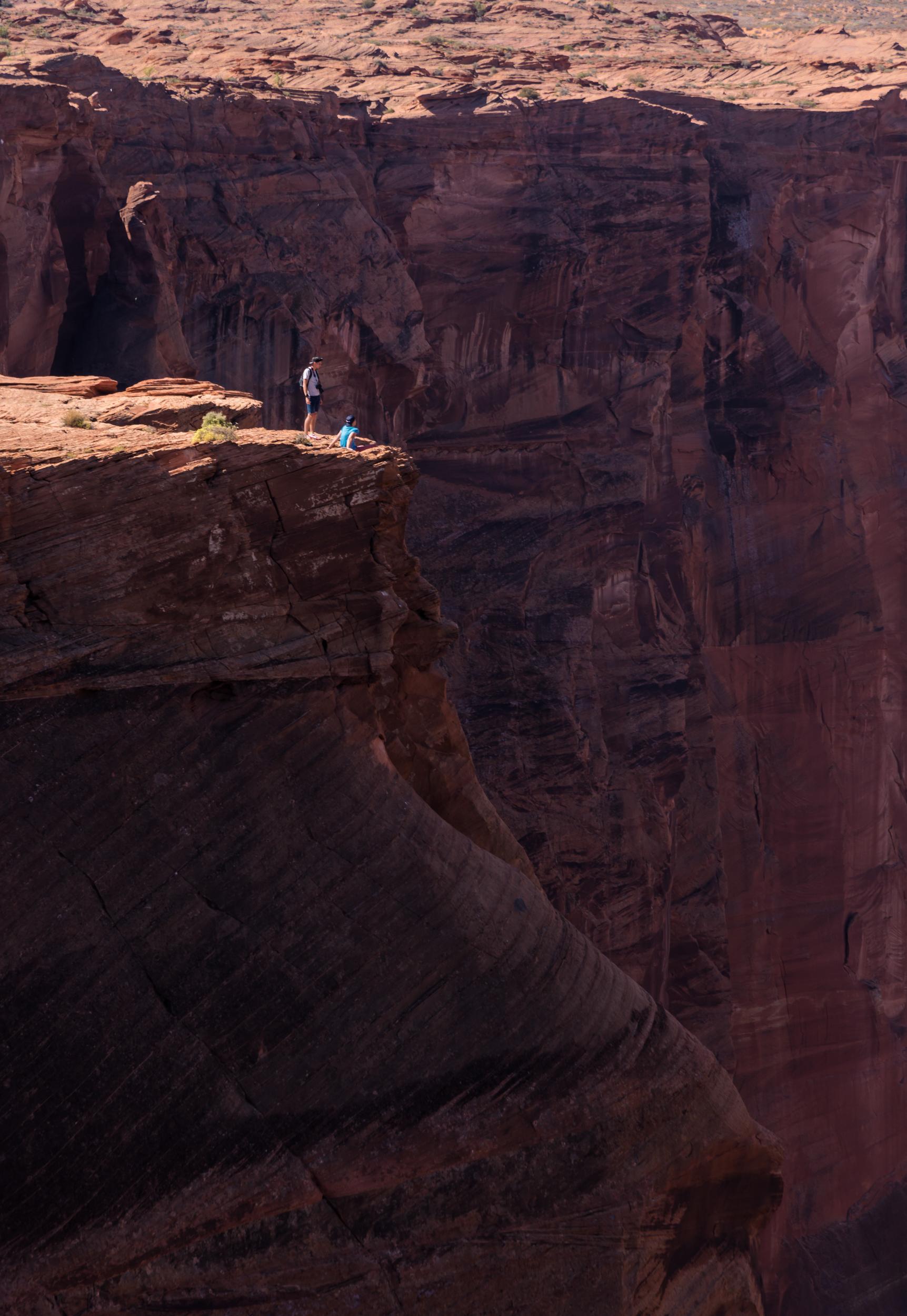 The Edge of Horseshoe Bend