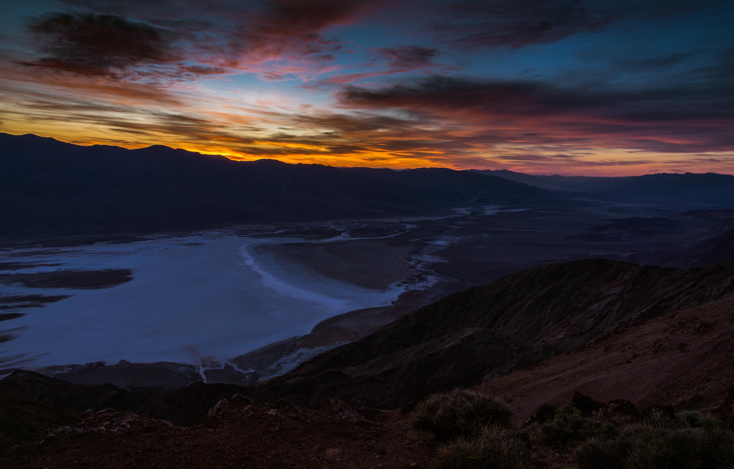 Sunset, Dante's View