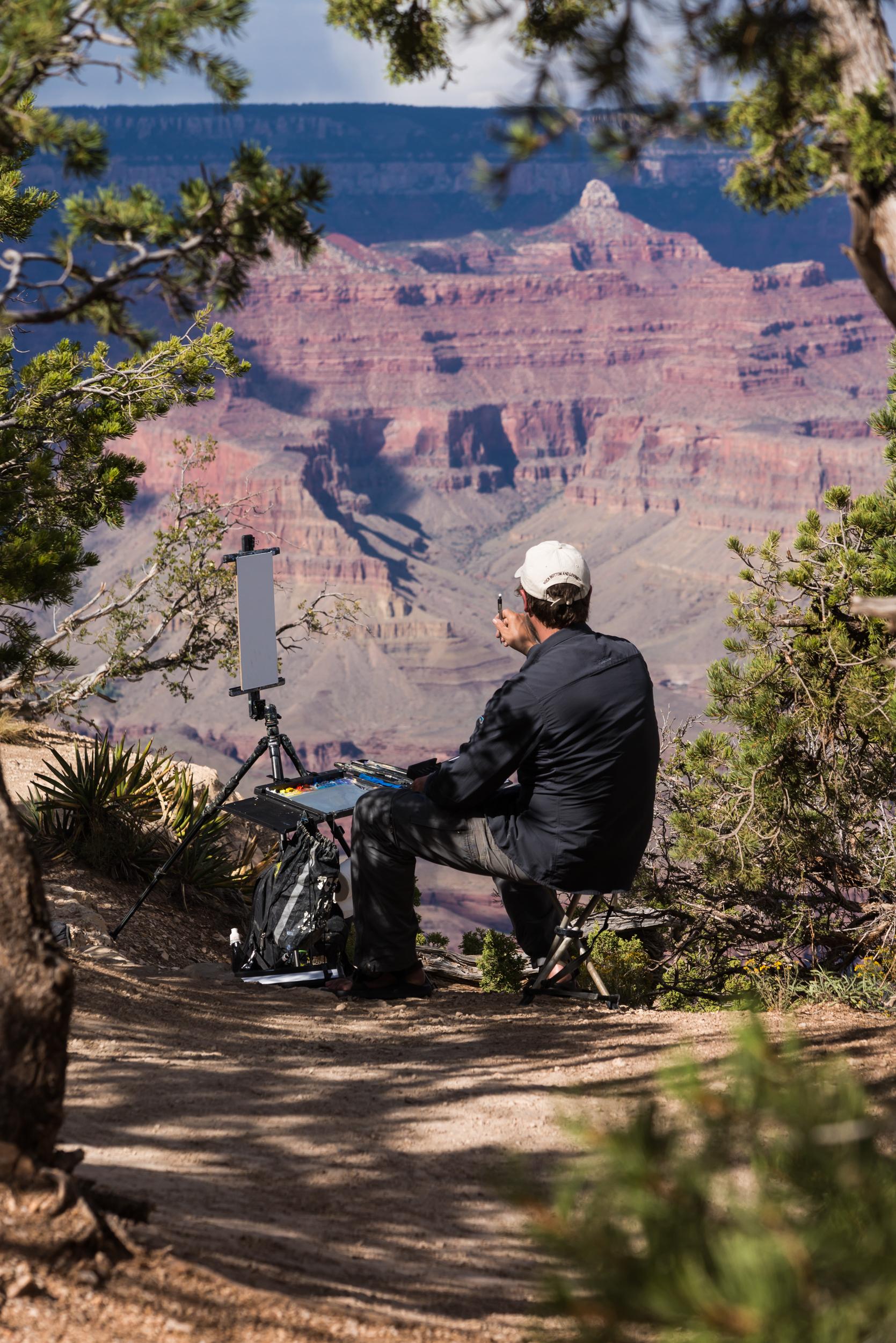 Grand Canyon Painter