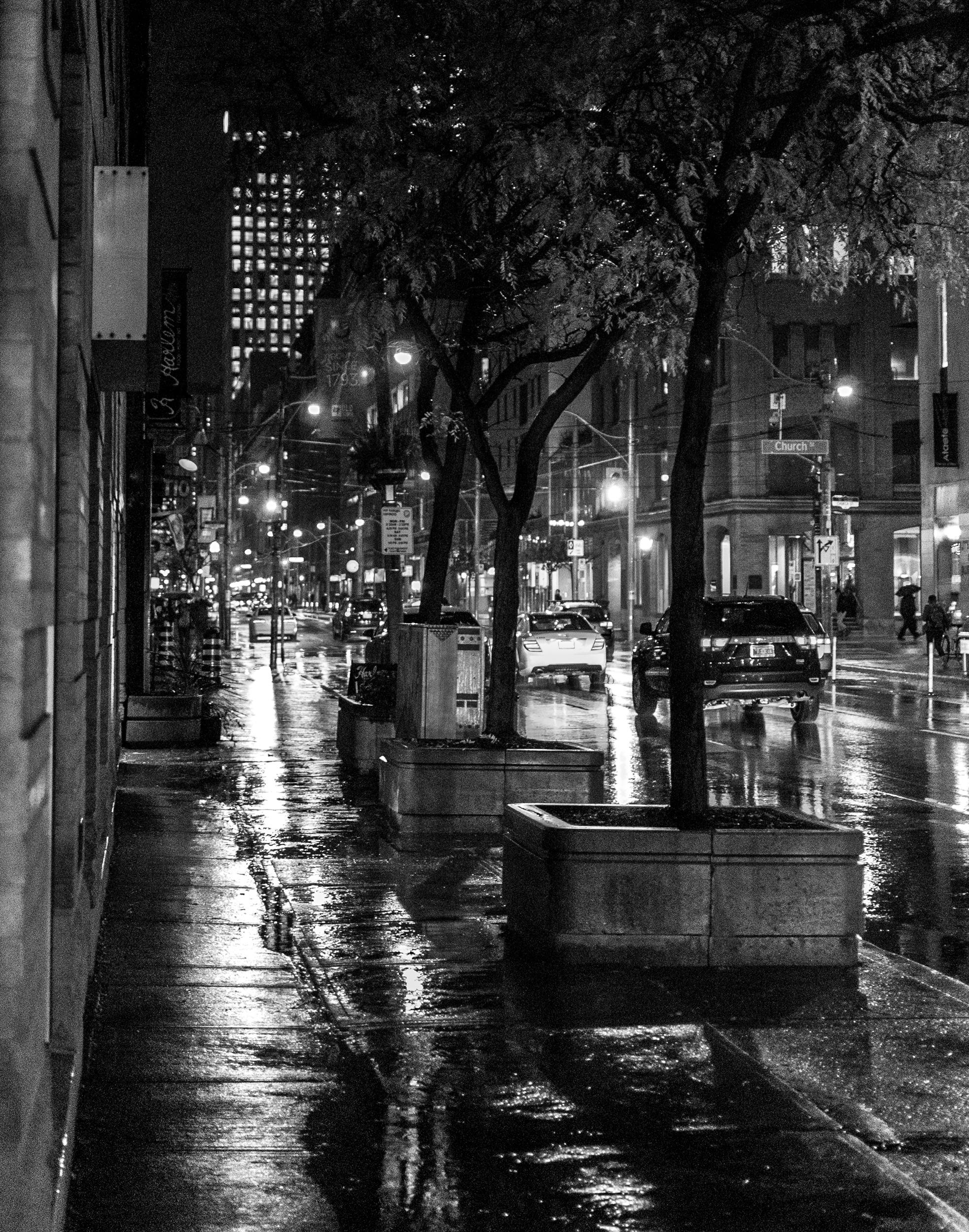 Rain - Church and Richmond