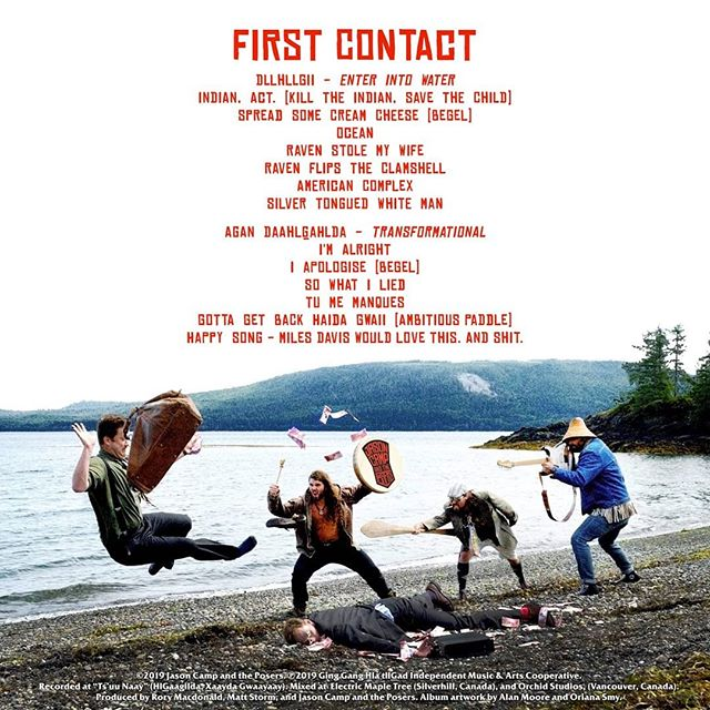 IT HAS NOW BEEN TWO WEEKS SINCE OUR EXCLUSIVE BANDCAMP RELEASE OF OUR LP FIRST CONTACT!!!!!! THE RESPONSE HAS BEEN OVERWHELMING AND SO REASSURING THAT WE ARE ON THE RIGHT MUSICAL PATH.  HAAWA TO OUR FRIENDS, FAMILY, AND FANS. YOU ARE ALL SO AMAZING!!!! WE WILL BE RELEASING THE ALBUM ON ALL STREAMING PLATFORMS IN THE FOLLOWING MONTH AND WE WILL HAVE ANNOUNCEMENTS ABOUT NEW MERCH AND PHYSICAL COPIES ASAP .... WE LOVE YOU ALL!!!!! Link to album in bio!!! Photo cred: @orianabatic  Art Design: @al.moop