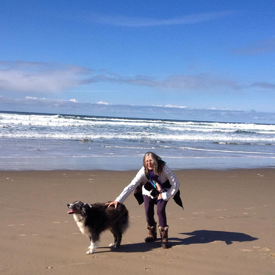 Two of my good friends! Randi Love is an amazing therapist and of course that makes her one of my best friends to talk with while walking my other Beast Friend- Roscoe T. on Manzanita Beach. I am so grateful to Randi for listening and providing me with her insights!