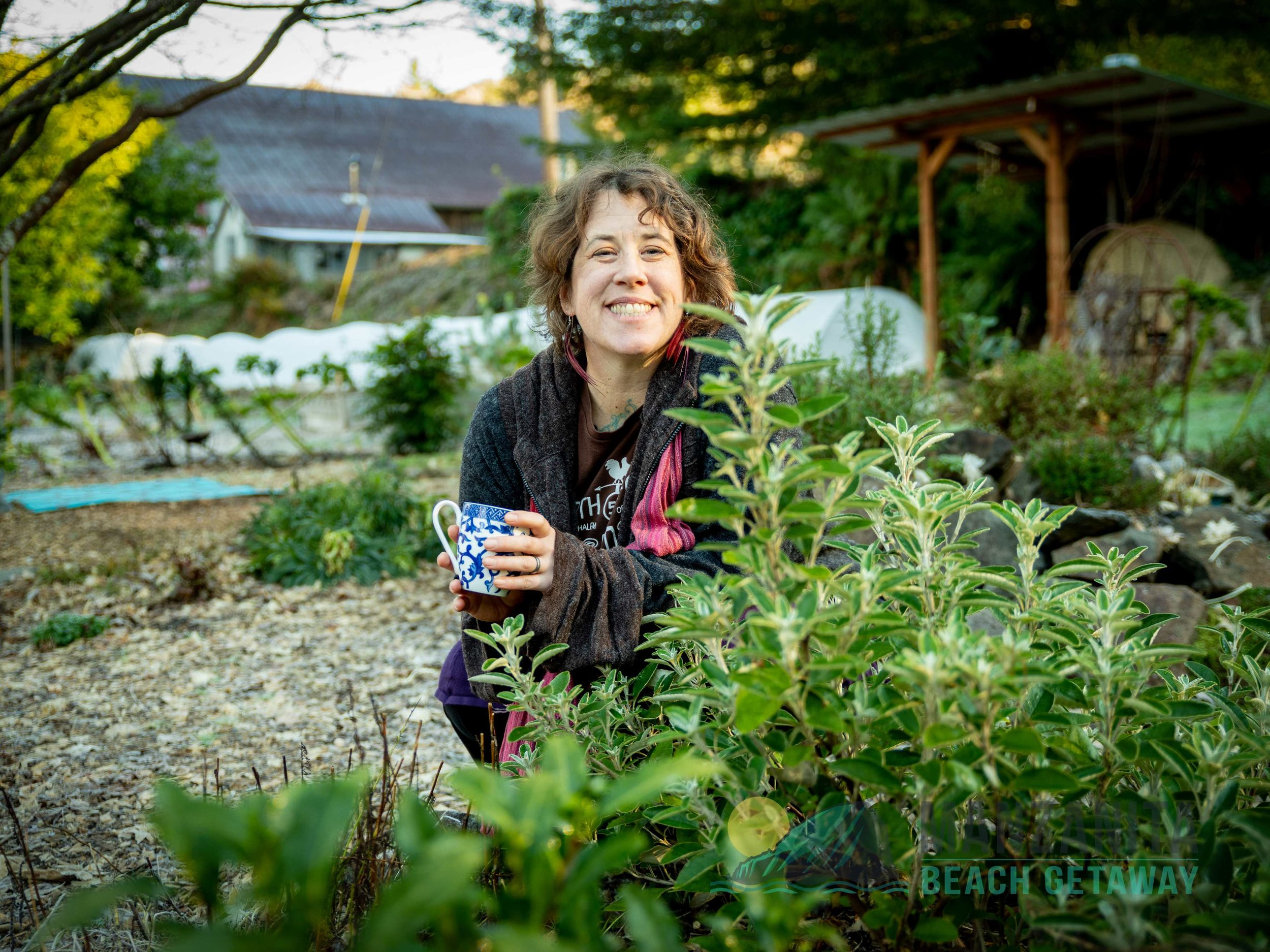 Take an organic tea garden tour with farmer Ginger at North Fork 53!