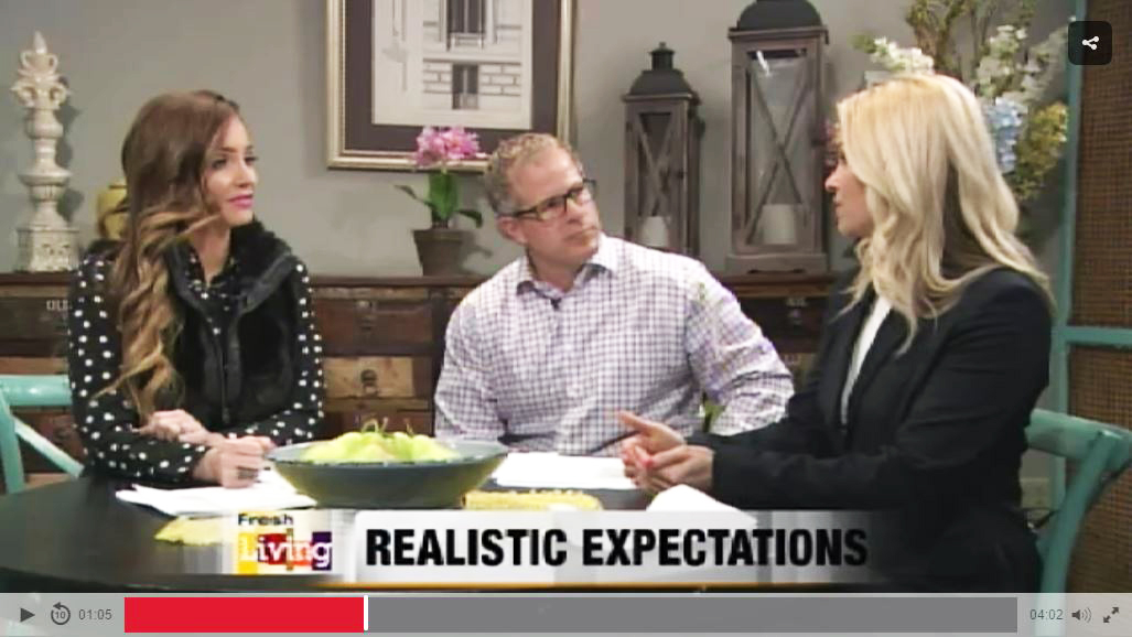 Founder Candice talks on KUTV Fresh Living about keeping realistic expectations.