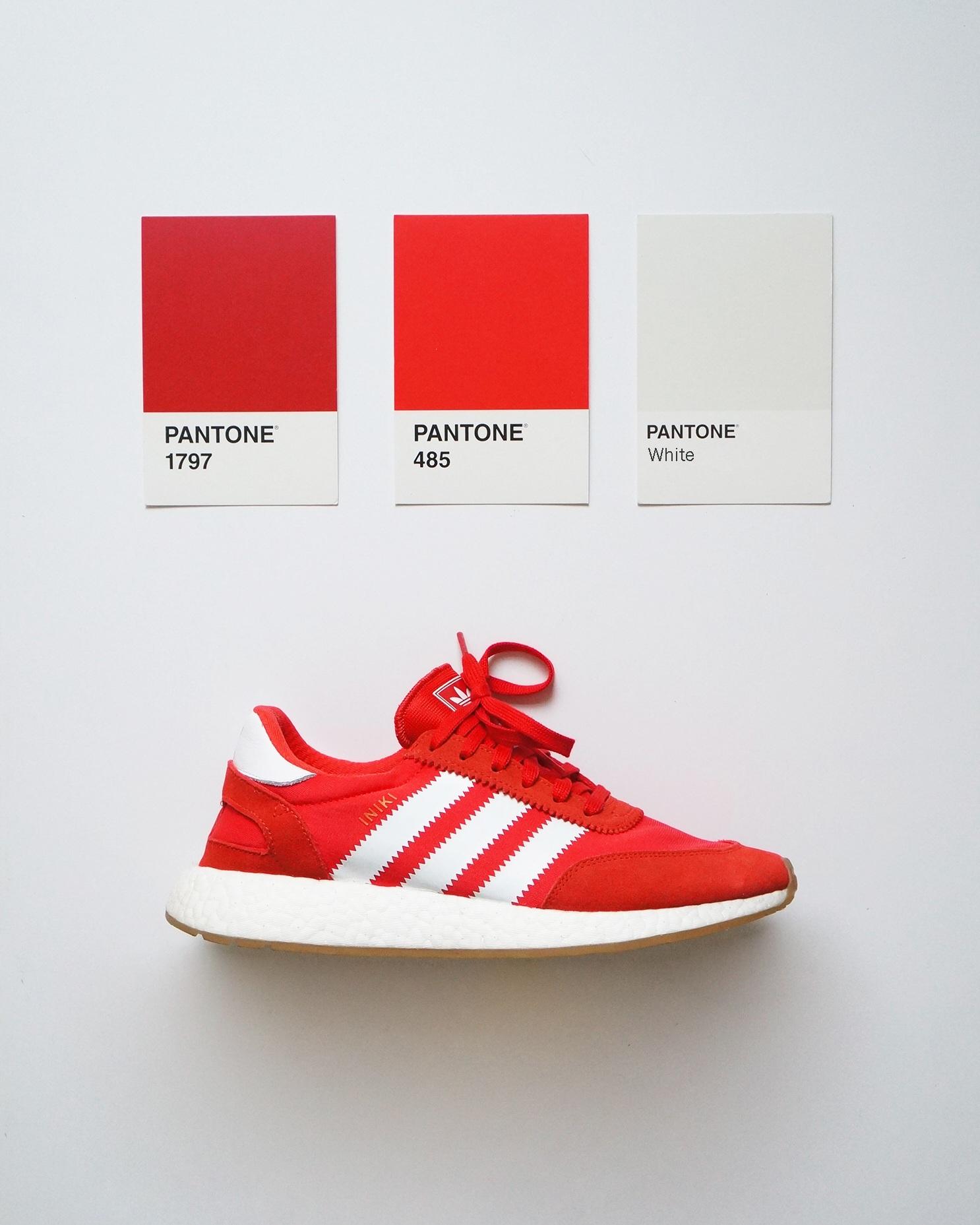 Sneaker Pantone Color Palette — QUANG PHAM