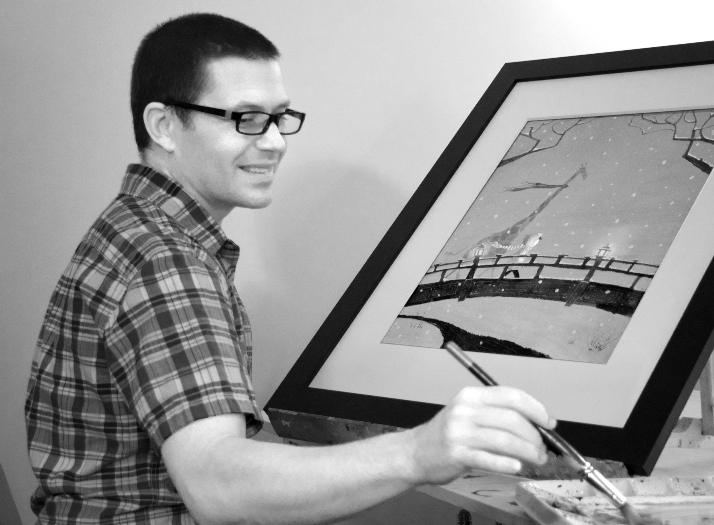 Working on my 1940's illustrator look