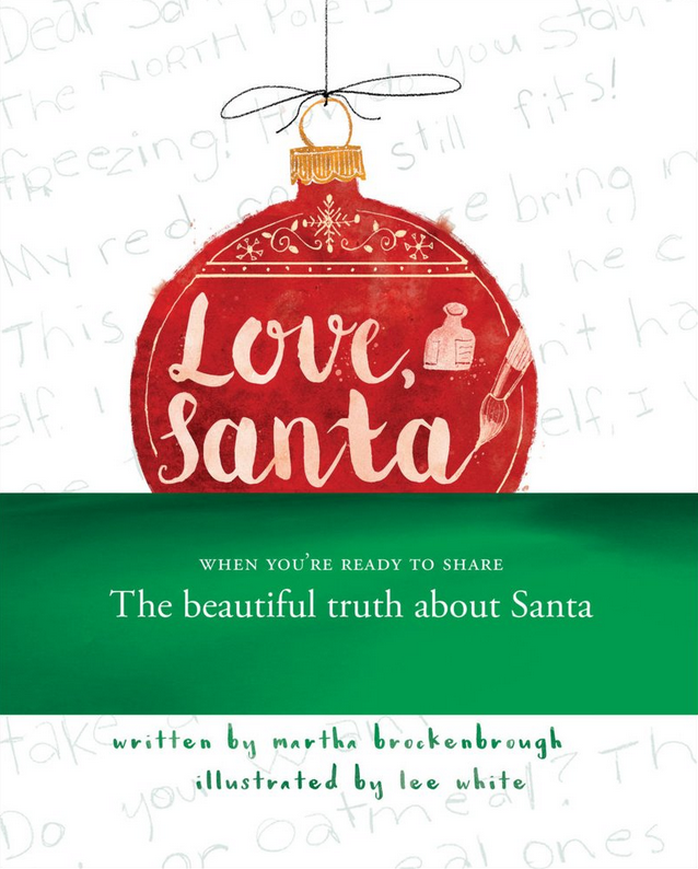 Love, Santa - Written by Martha Brockenbrough, Illustrated by Lee WhitePublication Date: 9/26/17In a series of letters, a young girl writes to Santa to ask about the North Pole, Mrs. Claus, and of course, Christmas goodies. Year after year, Santa writes back, and a heartwarming relationship develops, until one year, the girl writes to her mother instead: Mom, are you Santa? Her mother responds to say that no, she is not Santa. Because Santa is bigger than any one person -- we bring him out through kindness to one another and the power of imagination. This transformative tale spins a universal childhood experience into a story about love, giving, and the spirit of Christmas.
