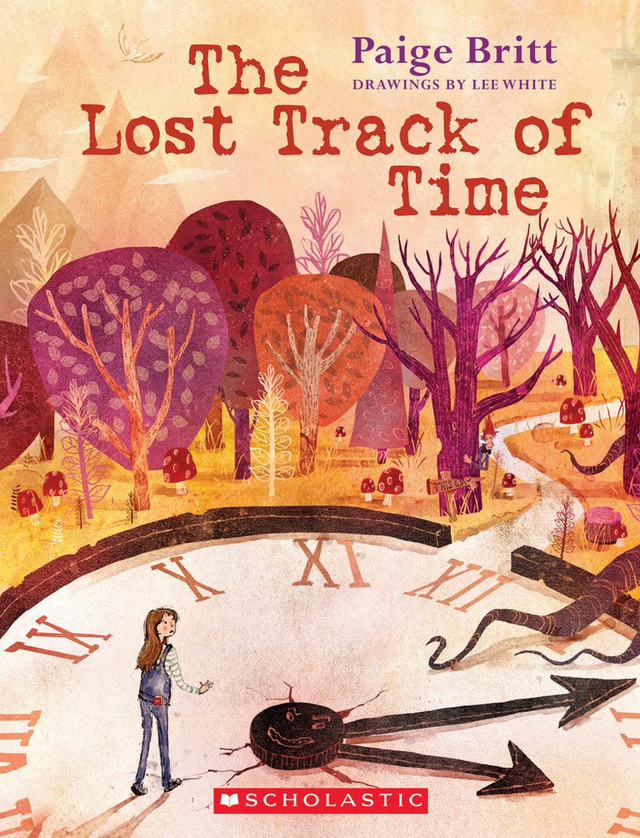 The Lost Track Of Time - Written by Paige Britt, Illustrated by Lee WhitePublication Date: 3/31/15Penelope is running out of time!She dreams of being a writer, but how can she pursue her passion when her mother schedules every minute of her life? And how will she ever prove that writing is worthwhile if her mother keeps telling her to