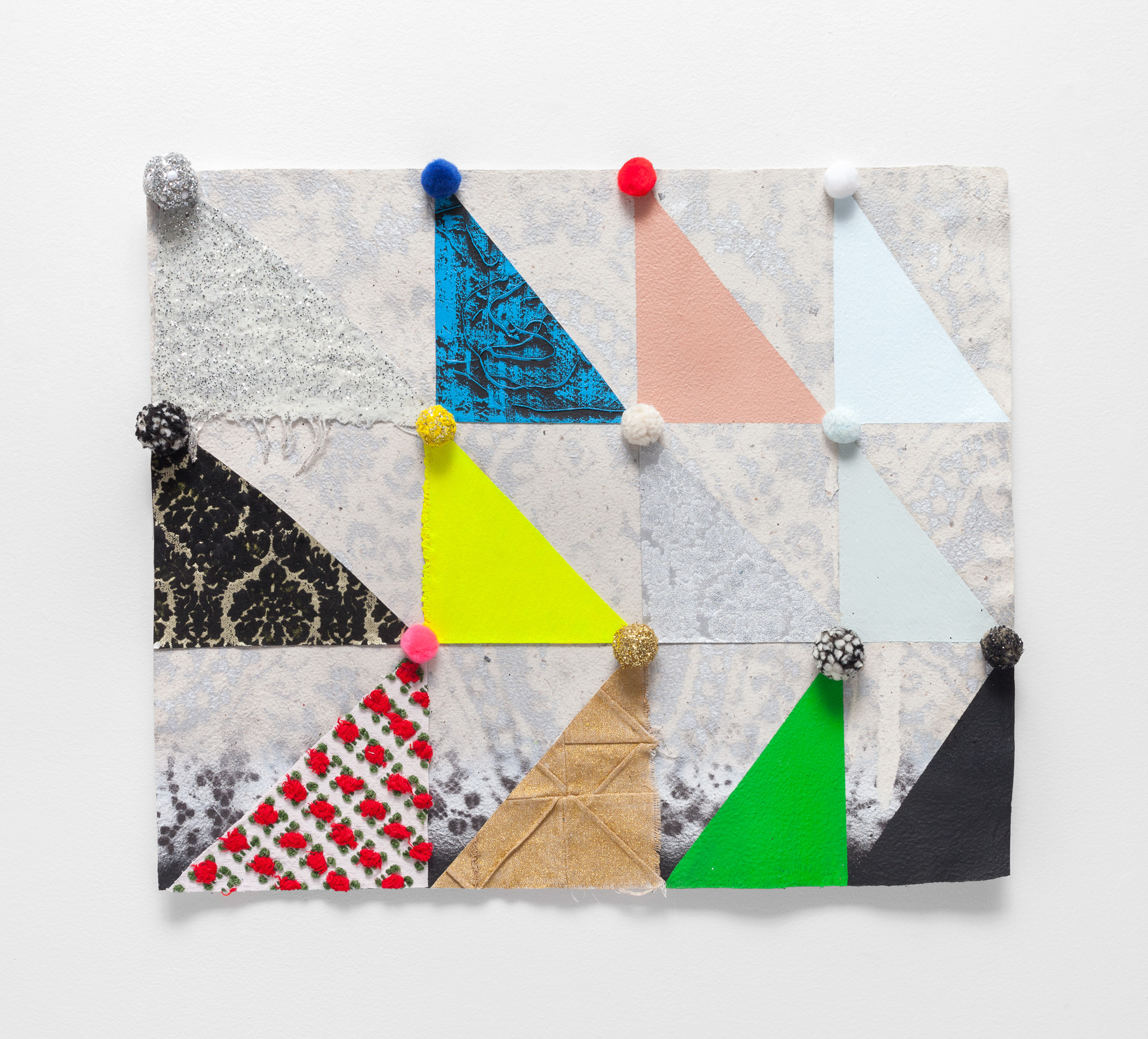 Untitled (Pom Quilt)