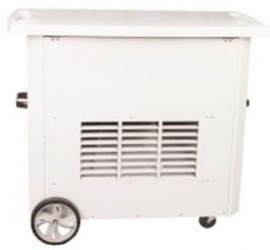 125,000 BTU Vent Free Heater, range of up to 3,000 Sq. Feet