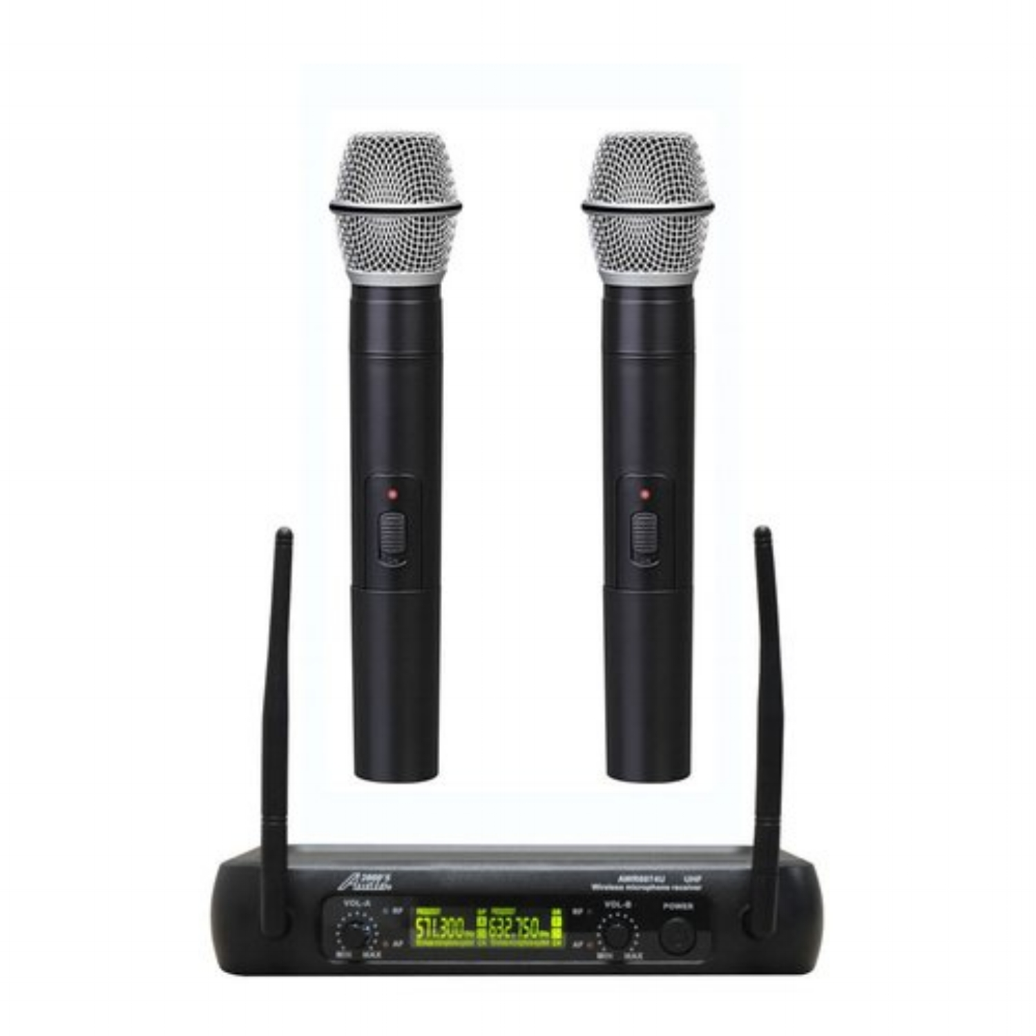 Dual Channel Wireless Microphones