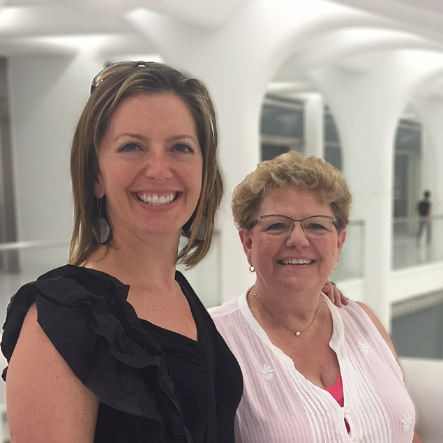 Lisa Vehrenkamp and Mary Schultz