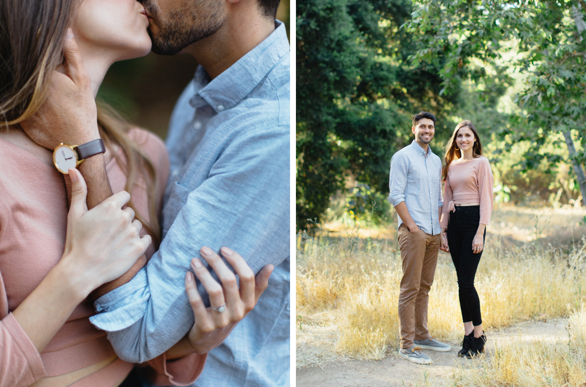 Griffith Park Los Angeles Engagement Session - For the Love of It-005.jpg