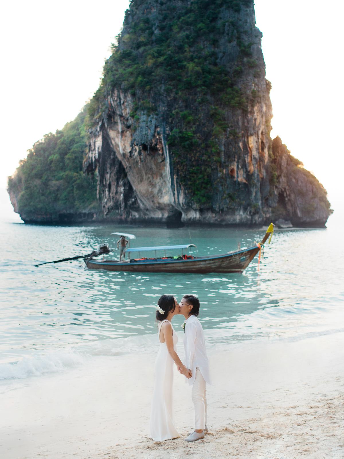 Railay Beach Rayavadee Krabi Thailand Wedding by For the Love of It-20.jpg