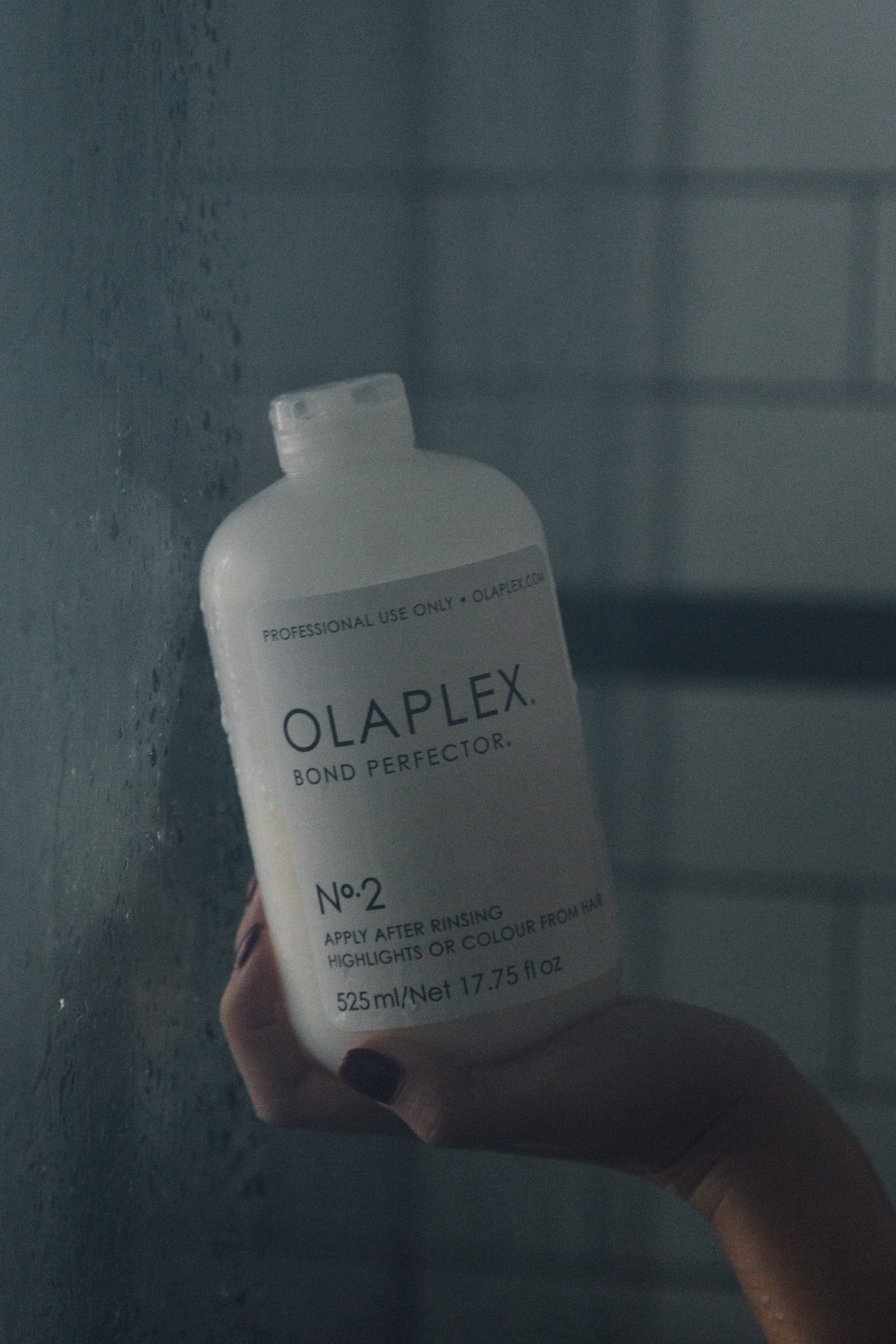 1. Deep Condition/Hair Mask - This is literally my saving grace and holy grail product. If it wasn't for Olaplex, my hair would be crisps now. This is really the one product that helps strengthen and heal my super bleached out hair--I would highly recommend it. I go through a giant bottle every two months. (You can't buy this 17.75fl oz retail-- I bought it off my hairstylist, but you can buy the smaller version on Amazon.)I'm not really the type to stand around for things (probably because my attention span sucks) so I like to do this FIRST, and let it sit in my hair while I do other things, like shave my legs.Shop Olaplex.