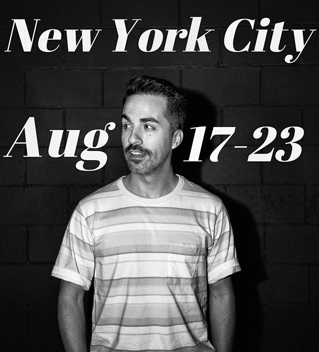 . . Aug 17  Niagara Bar 8pm // Barbershop comedy at 8:30pm Aug 19  Freestyle Comedy Bowery Electric 8pm  Aug 20  New York Comedy Club 9:30pm Aug 21  WEEP at the Grey Lady 8pm // Comedy at Baby Brasa at 9pm Aug 22  Bomb Shelter 8pm // Easy Listening at Bodeguita BKAug 23  New York Comedy Club at 7pm // Gotham Comedy Club 9:30pm