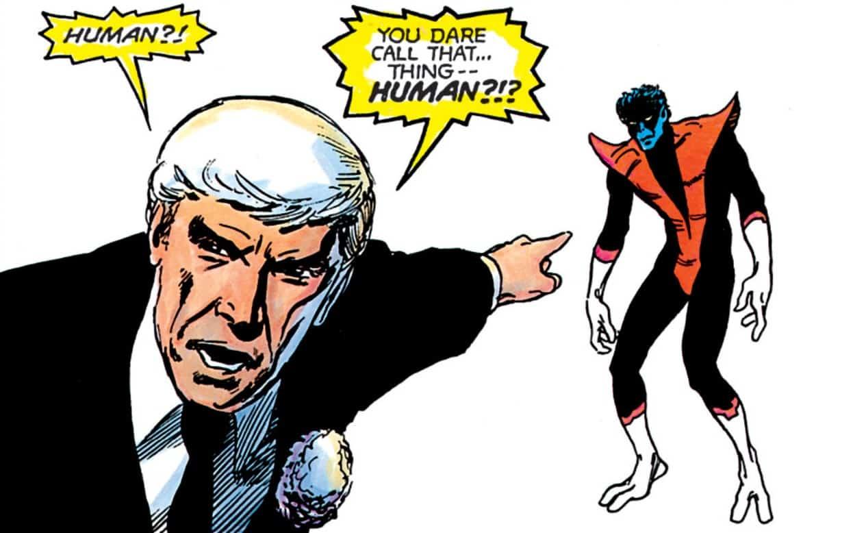 A panel from X-Men: God Loves, Man Kills. | IMAGE from MARVEL COMICS