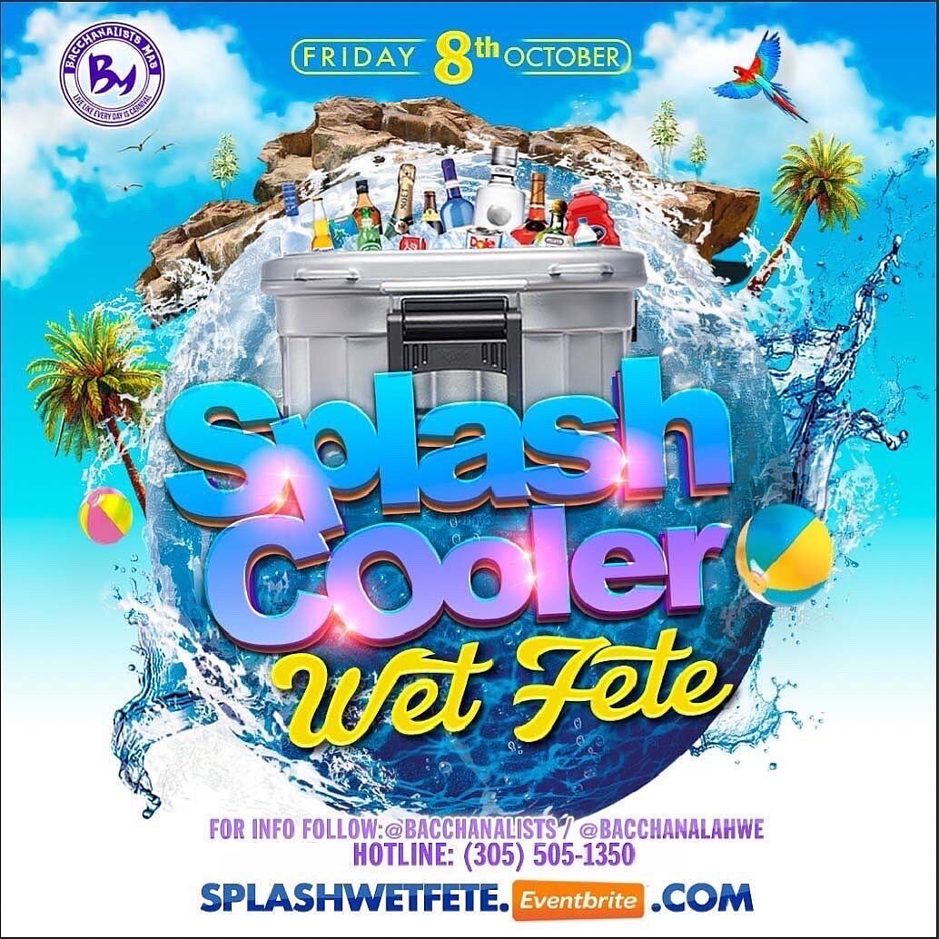 Splash Cooler Wet Fete