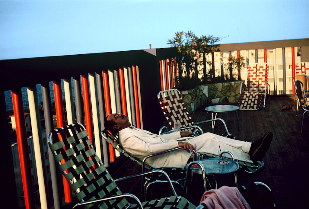 Paul Outerbridge,  Self Portrait, Santa Monica  (1955)