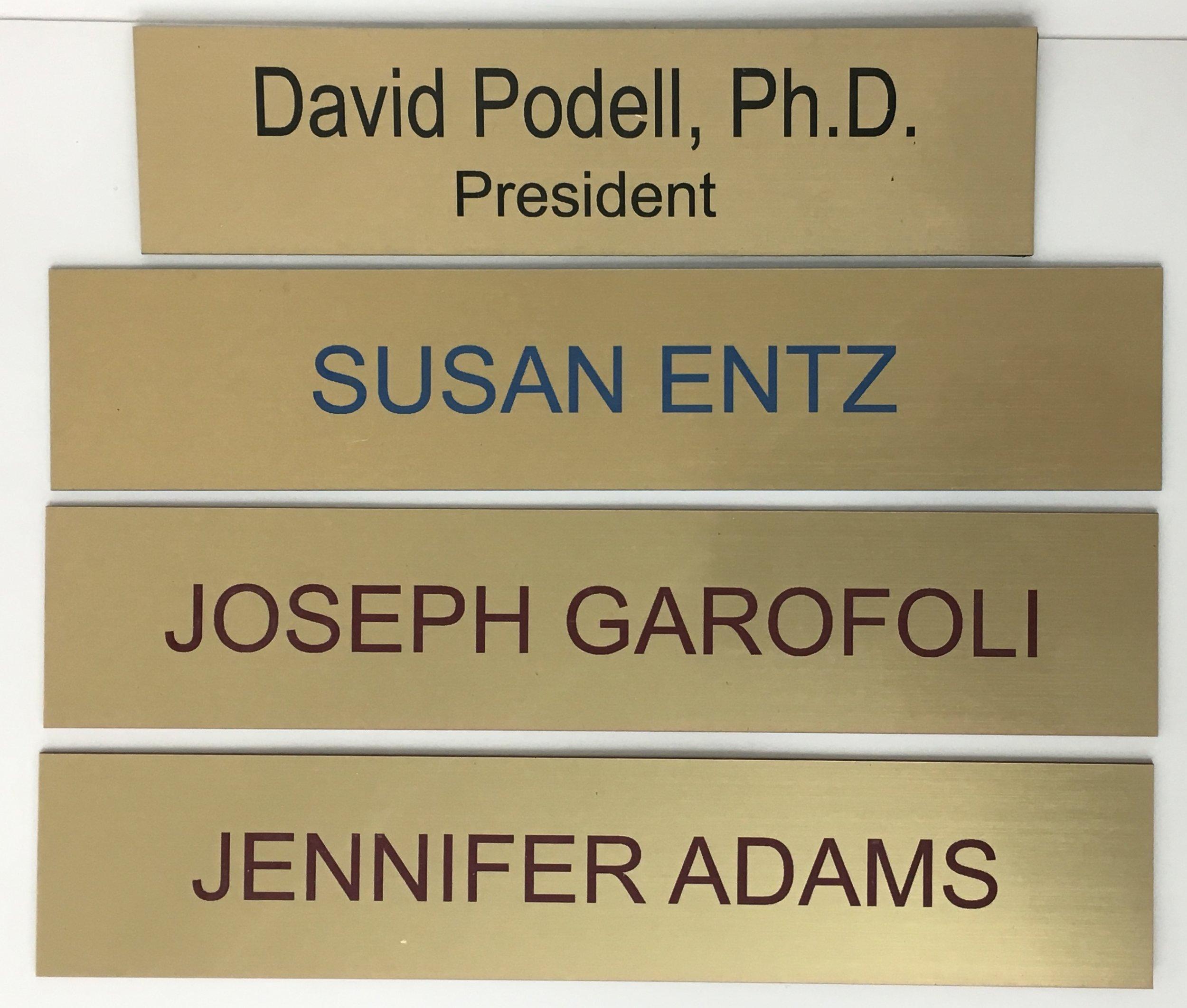 Standard Name Plates.JPG