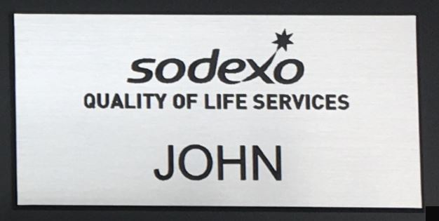 Sodexo Silver Black Logo Engraved with Name and Title.JPG