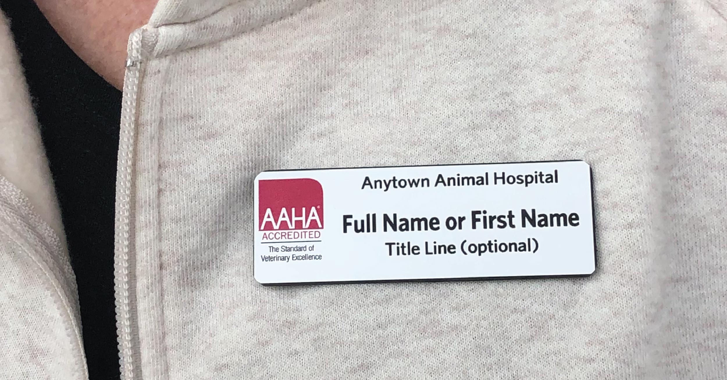 AAHA Style B Badge Starting at just $5.25 Each