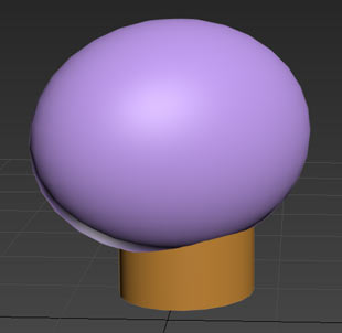 Applying a strict traditional art look at it, we will say it's a sphere and a cylinder, but is this enough? (though, for sculpting it could be )