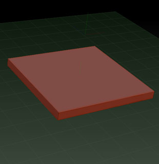 Start with a basic slab. And try to chisel out any basic form, a cube, a sphere or a pyramid.