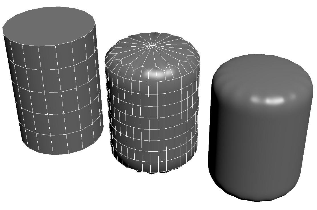 NGons Cylinder Cap