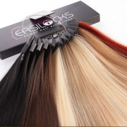 LIMITLESS CREATIVITY & EXCEPTIONAL RESULTS   Easilocks human hair extensions is a revolutionary system for adding volume or length to your hair using invisible locks without the need for glue, heat or sewing. Celebrities including Margot Robbie and Binky Felstead are huge fans.