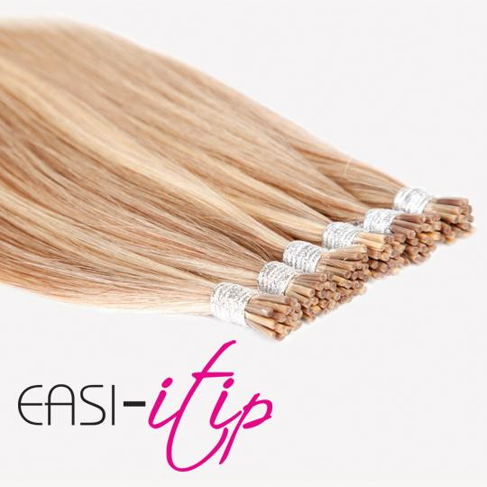 """Easilocks ITips   No heat, glue or sewing  No damage to your existing hair  33 Natural-looking shades  9 Fashion shades  Available in 14"""", 18"""" and 22"""" lengths"""