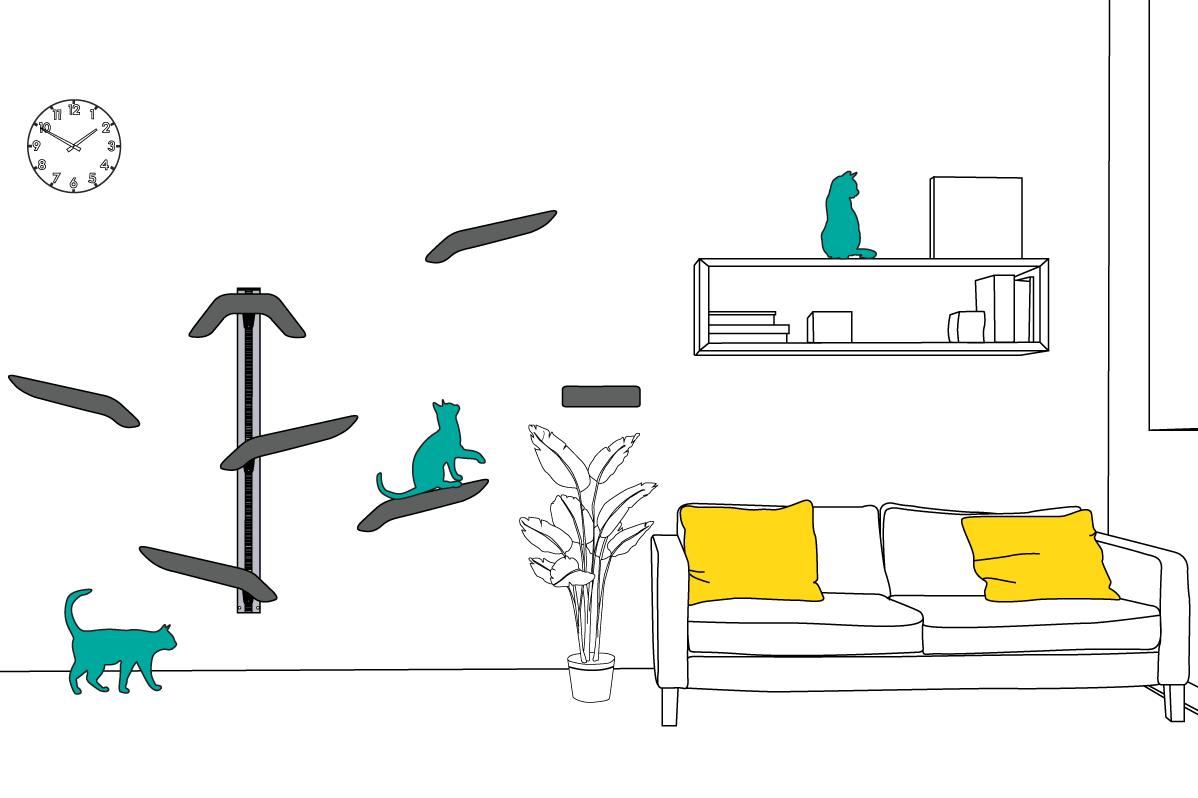 Indoor Cat Tree Best Ideas Modern Use