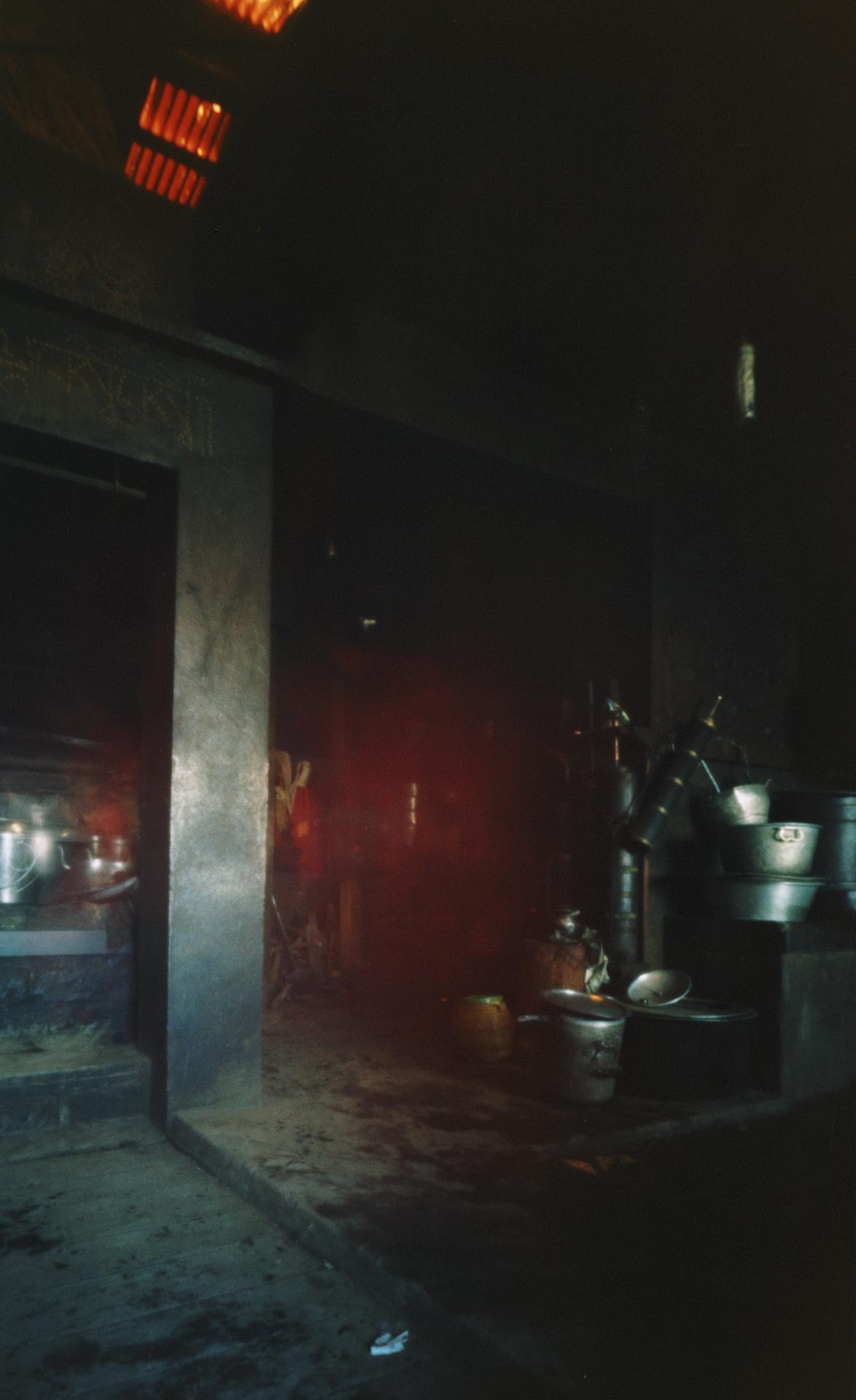 Kitchen Thupencholing Monastery, Jumbesi, Nepal, 2012