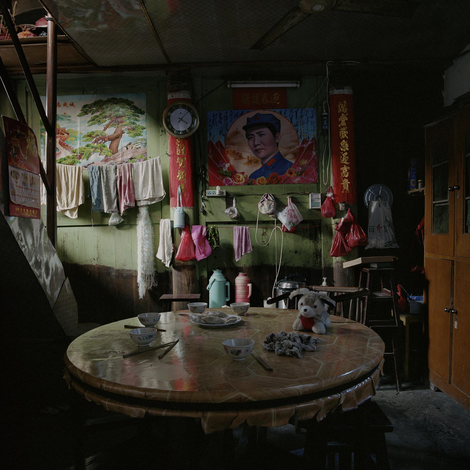Fujian, Zhixi - young Mao