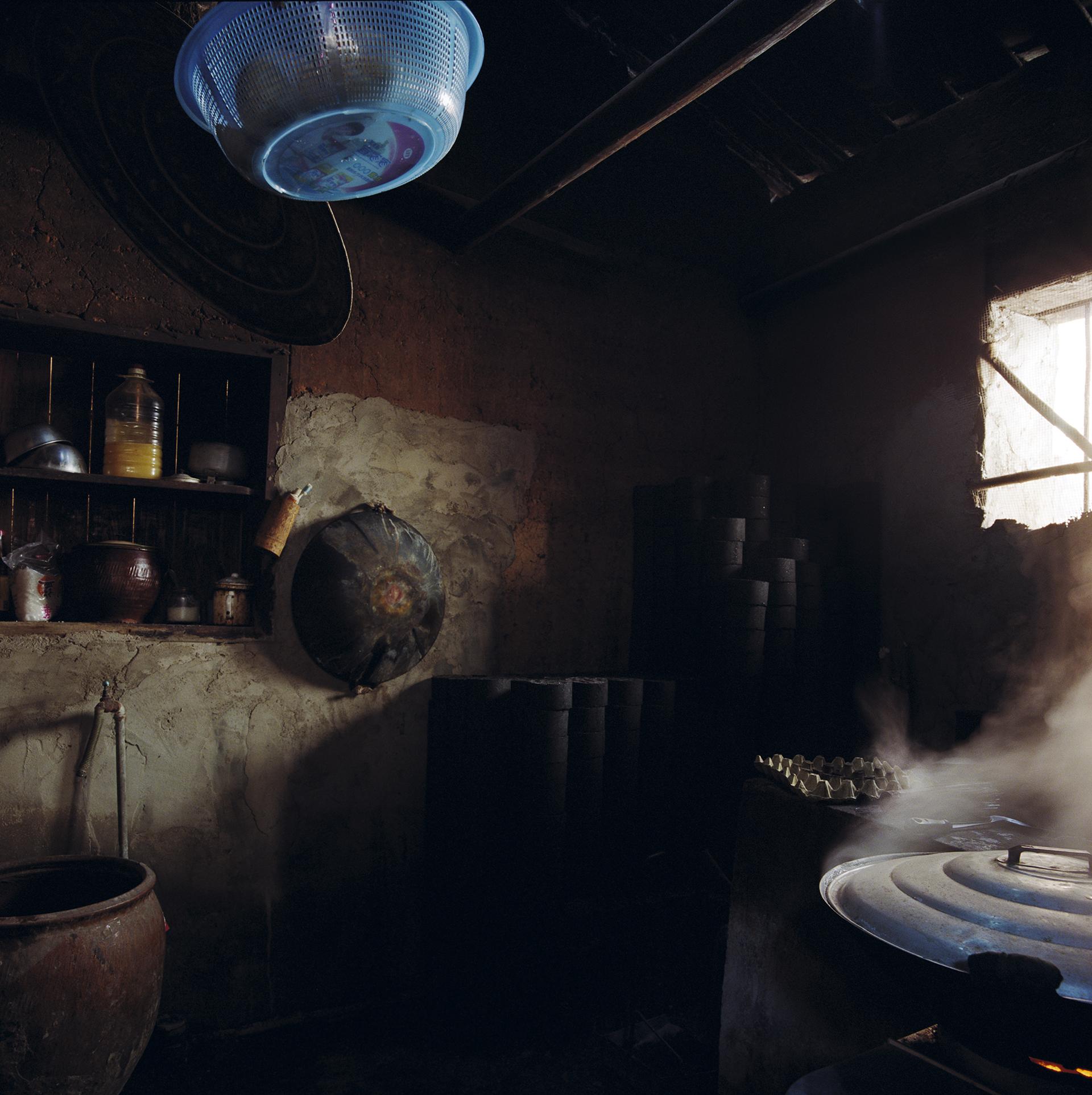 Fujian, Changting - blue basket