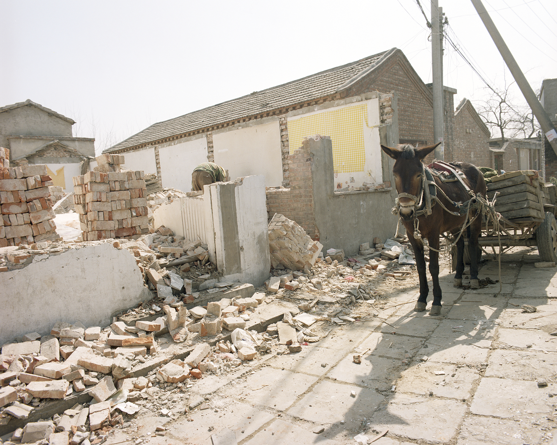 Saving building materials.