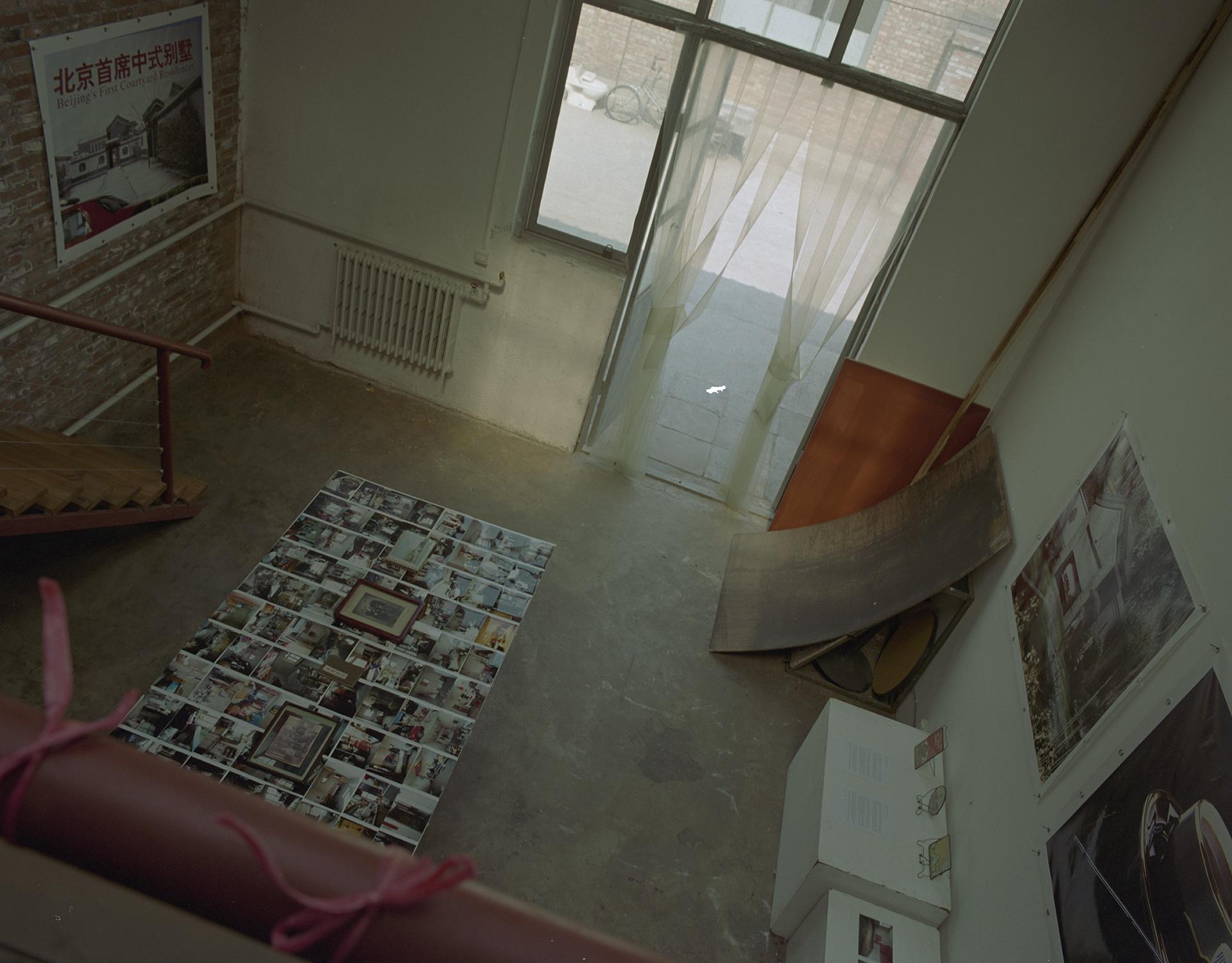 My studio - farewell exhibition, March 2005.
