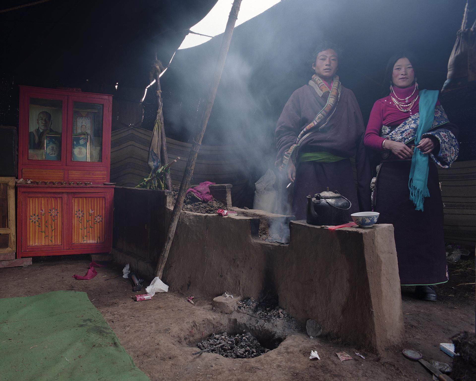 2007 Qinhai - daily life on the grass lands.