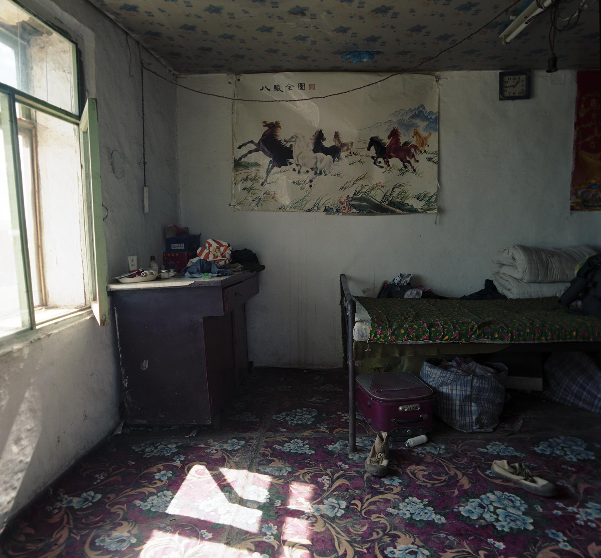 2008 Inner Mongolia - a colorfull house.