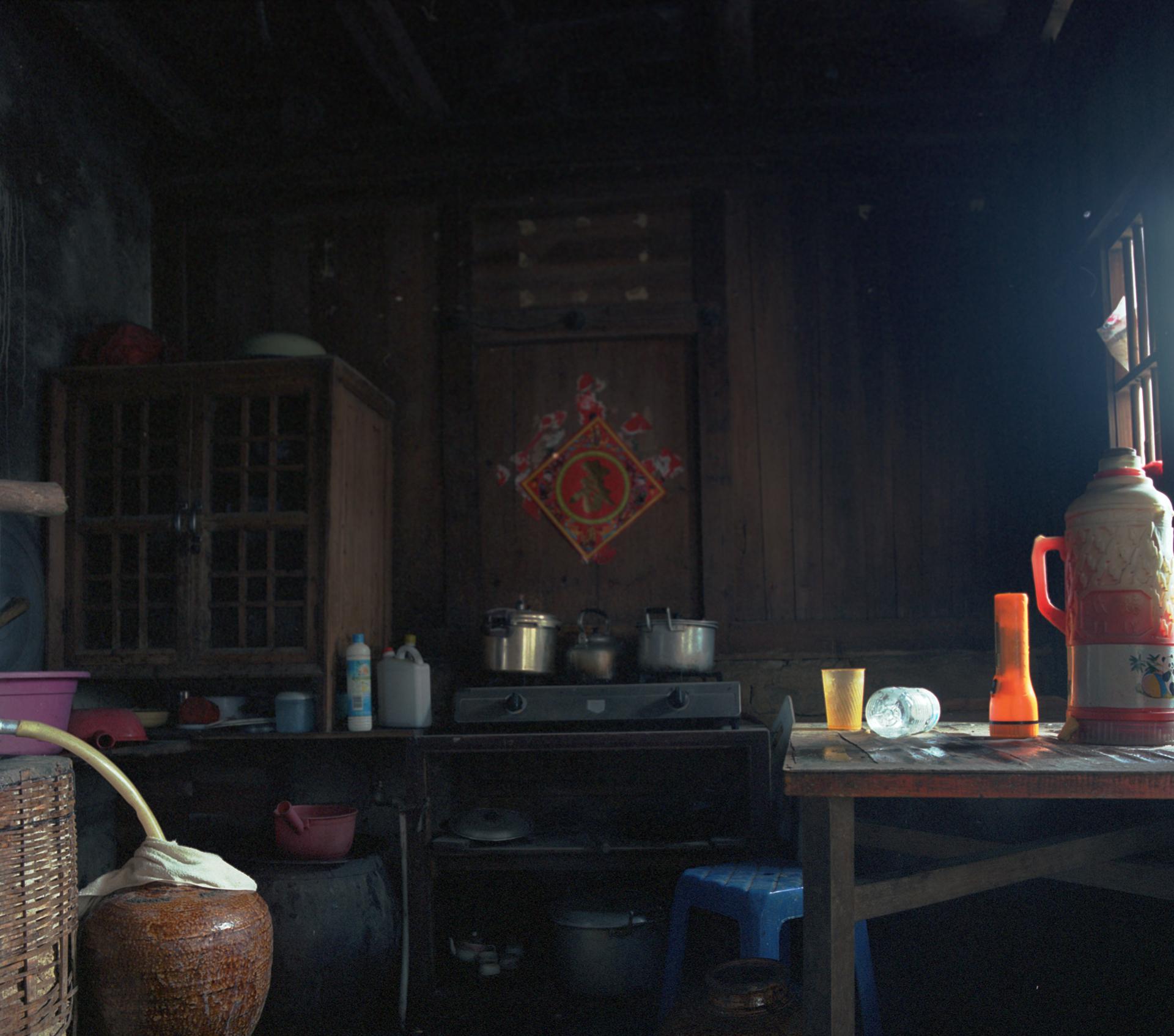 2009 Fujian - home distillery in the Hakka house. The stuff tastes awful.