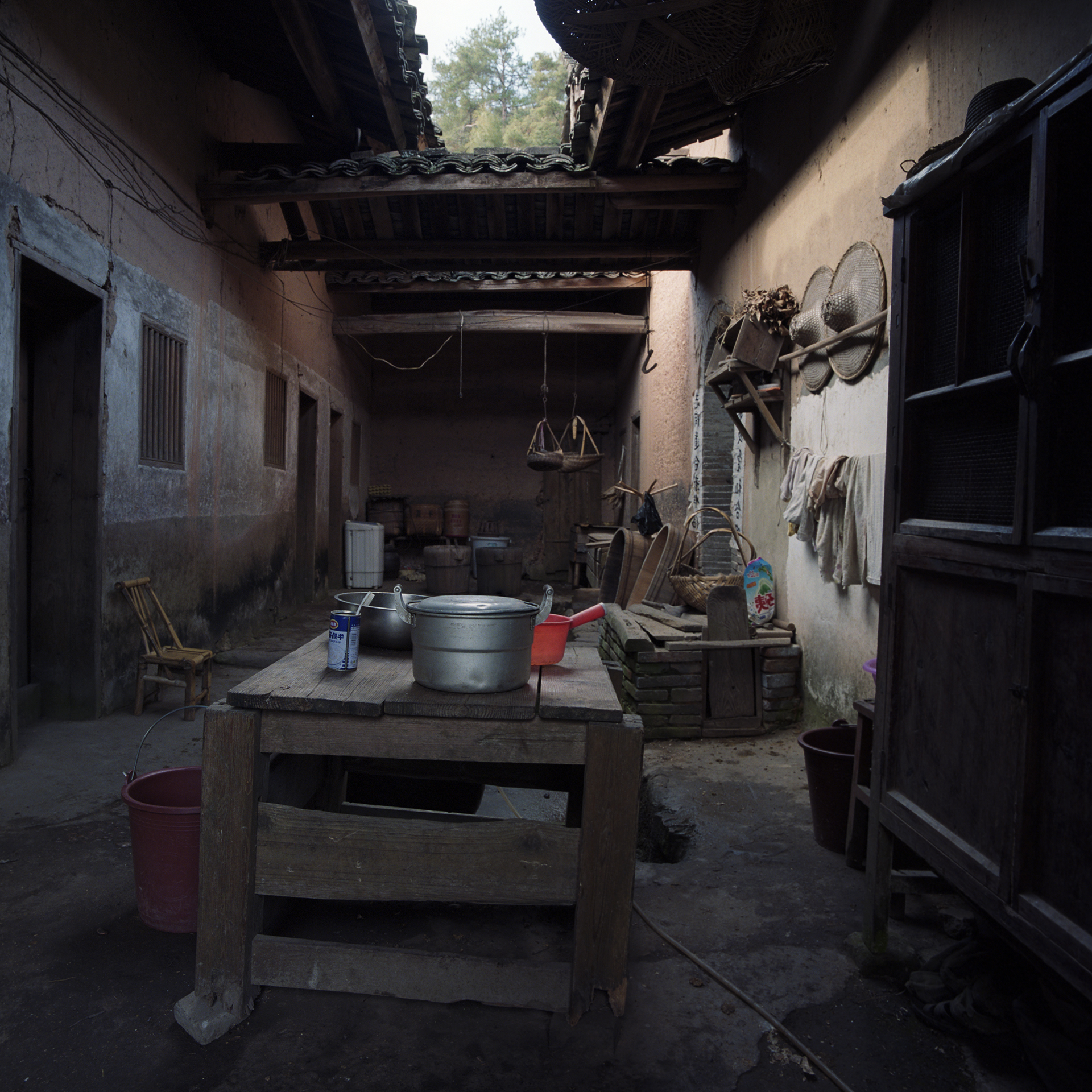 2009 Fujian - The ancestral home.Here the red guards never entered.