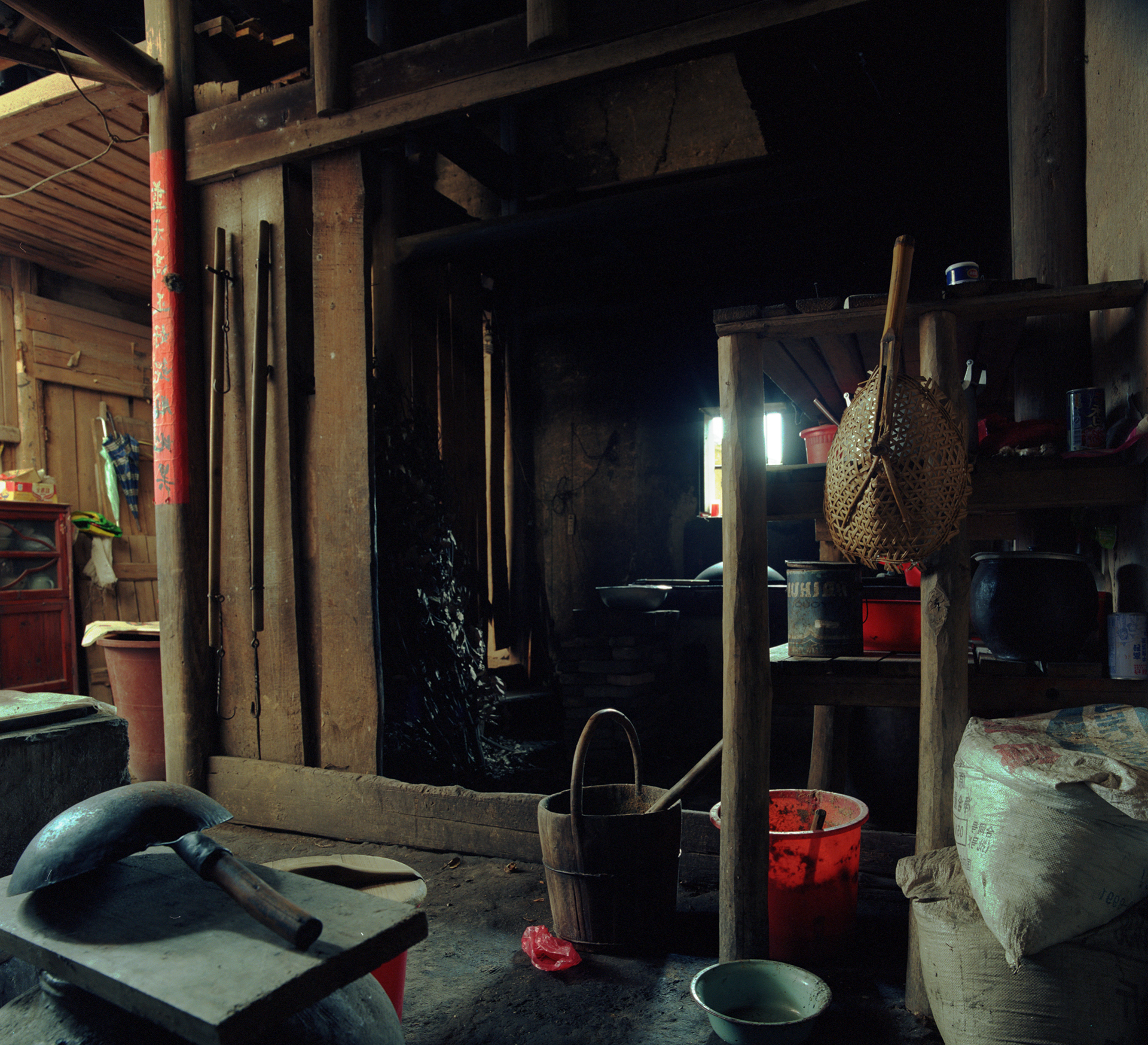 2009 Fujian - There is a small private kitchen in every crook, nook and corner.