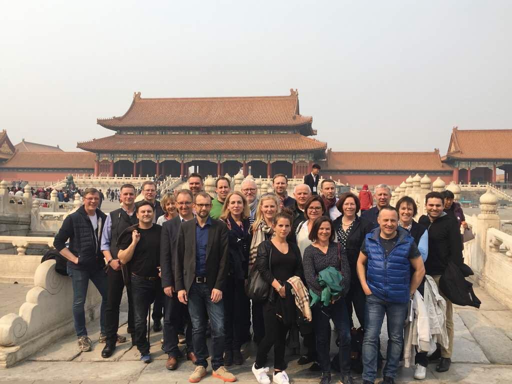 CDU Fraktion Bremen in der Verbotenen Stadt, Peking