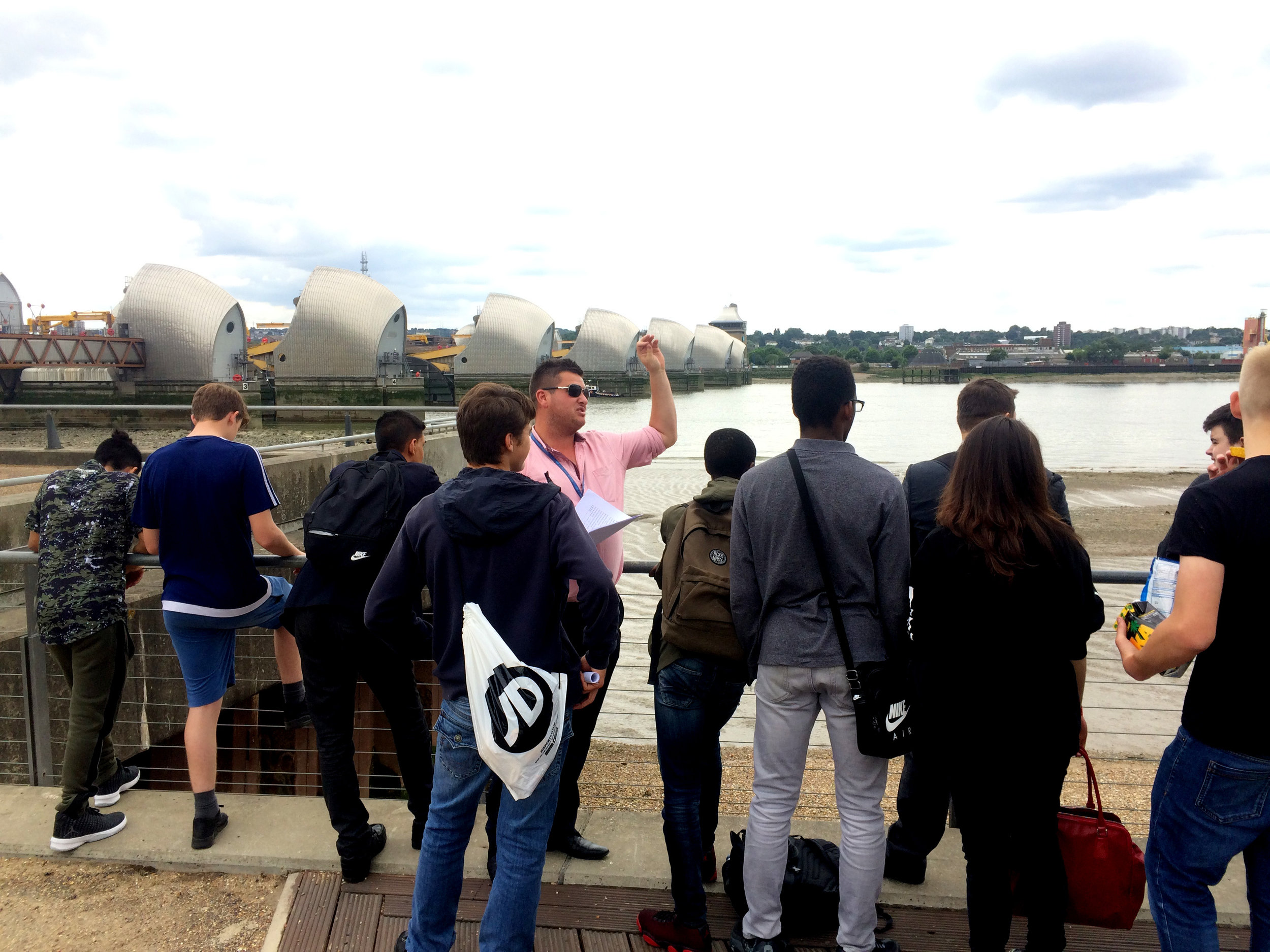Teaching by the Thames Barrier