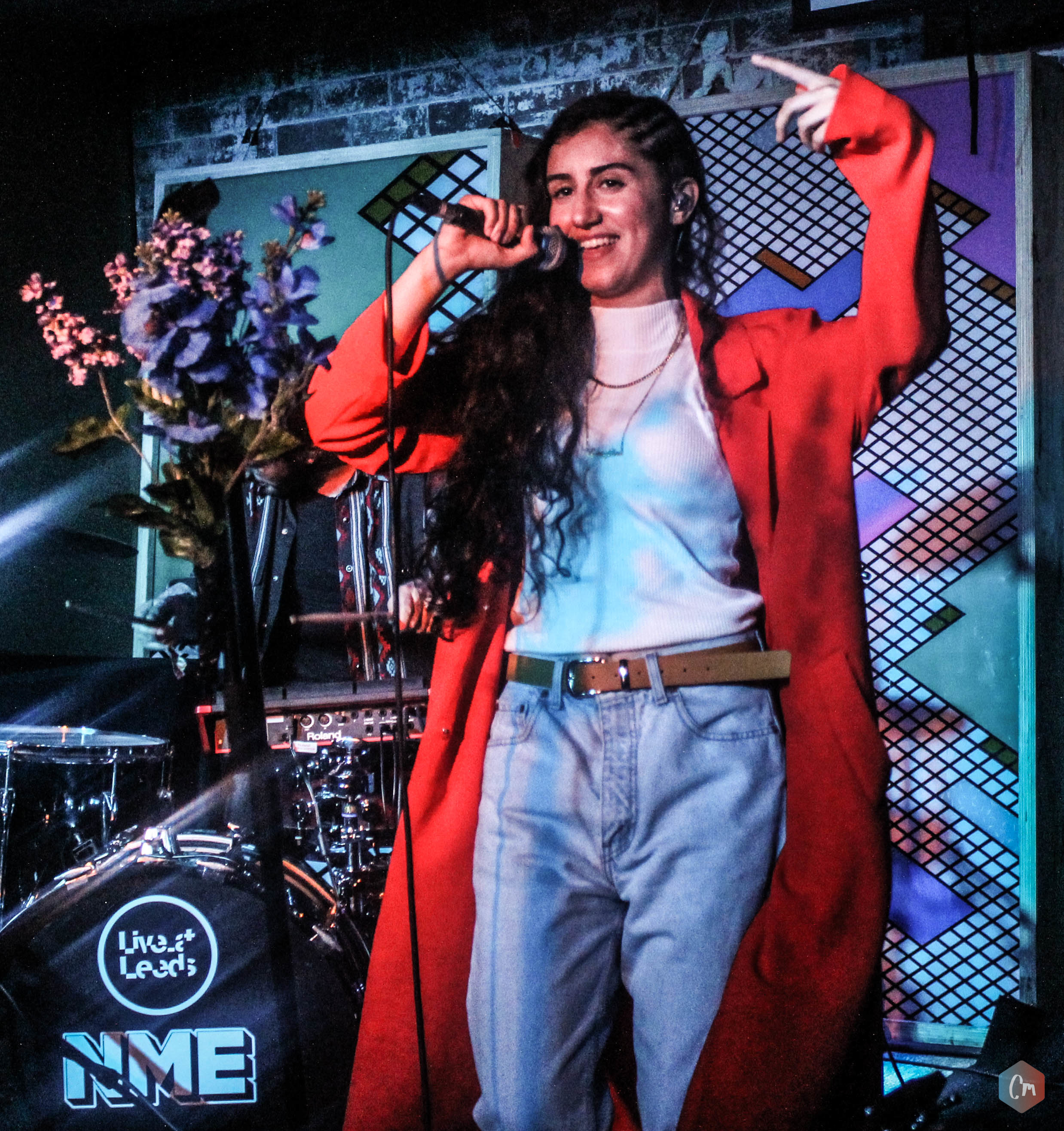 NAAZ WITH NME MAGAZINE