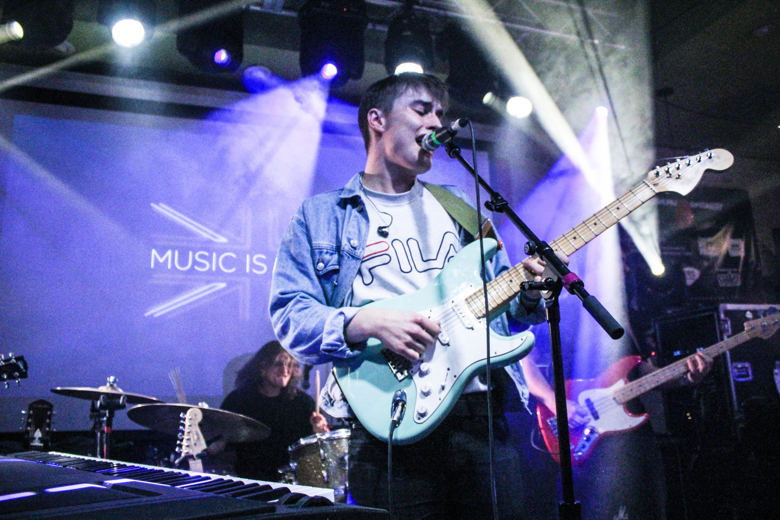 Sam Fender at SXSW - Photo © Concentus Music - Reproduction without permission not permitted